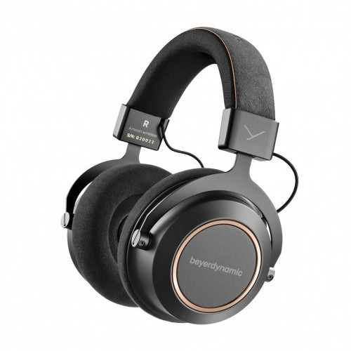 Image of Beyerdynamic Amiron Wireless High-end Tesla Bluetooth headphones with sound personalization (closed) Copper