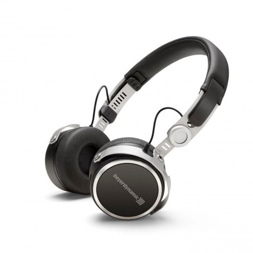 Image of Beyerdynamic Aventho Wireless Mobile Tesla Bluetooth headphones with sound personalization (closed) Black
