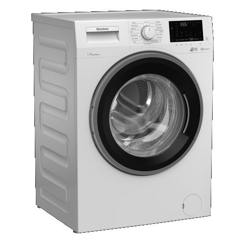 Image of Blomberg LWF174310W 7kg 1400 Spin Washing Machine with Bluetooth Connection White