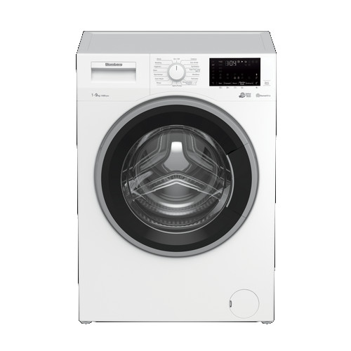 Image of Blomberg LWF194410W 9kg 1400 Spin Washing Machine with Bluetooth Connection White