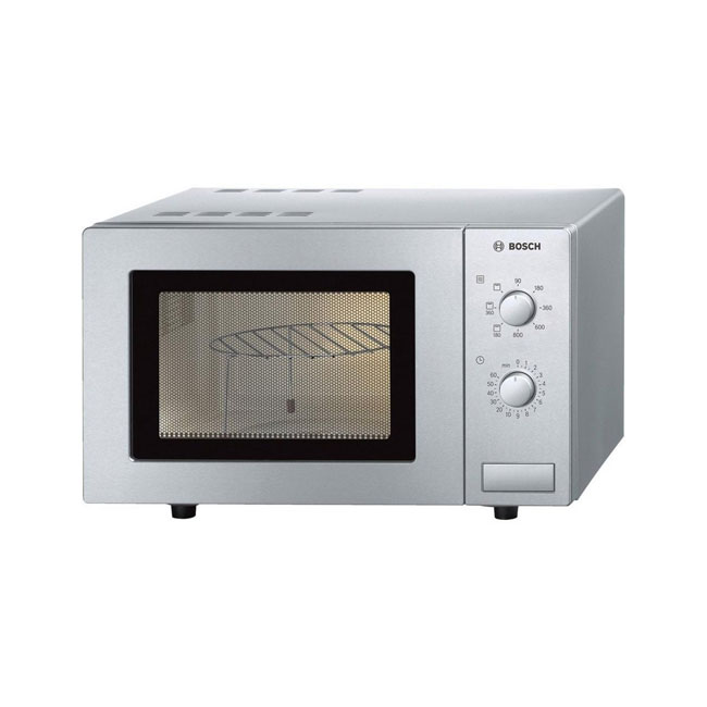 Bosch HMT72G450B Free Standing Microwave Oven in Brushed Steel