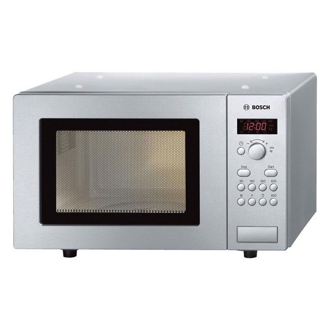 Bosch HMT75M451B Microwave Oven 17 Litre Stainless Steel