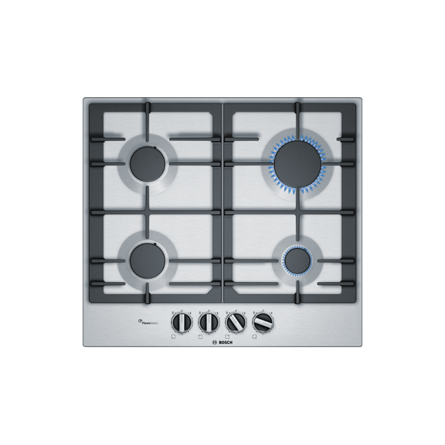 Bosch PCP6A5B90 Serie 6 60 cm hob Stainless Steel