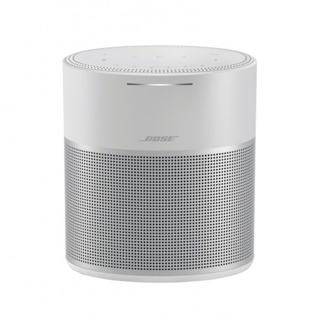 Image of Bose Home Speaker 300 Smart Speaker with Amazon Alexa and Google Assistant Silver