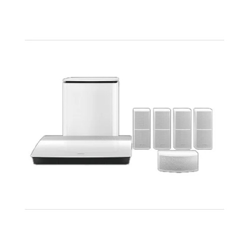 Bose® Lifestyle® 600 Home Cinema System in White - Factory Renewed - Two Year Bose Warranty
