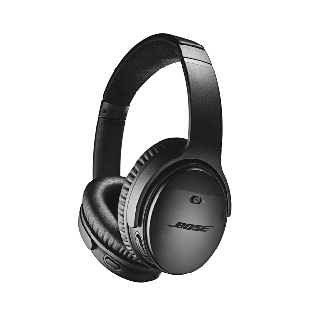 Bose® QuietComfort® 35 II Noise Cancelling Wireless Headphones with Google Assistant in Black