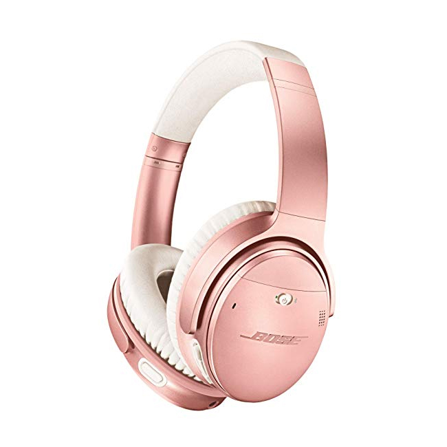 Bose® QuietComfort® 35 II Noise Cancelling Wireless Headphones with Google Assistant in Rose Gold