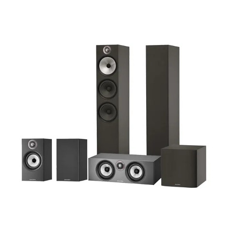 Bowers & Wilkins 603 607 S2 Anniversary Edition HTM6 S2 Anniversary Edition and ASW608 Speaker Package Black