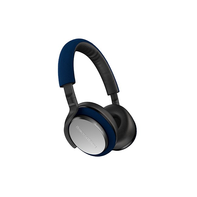 Bowers & Wilkins PX5 On-Ear Noise Cancelling Wireless Headphones Blue