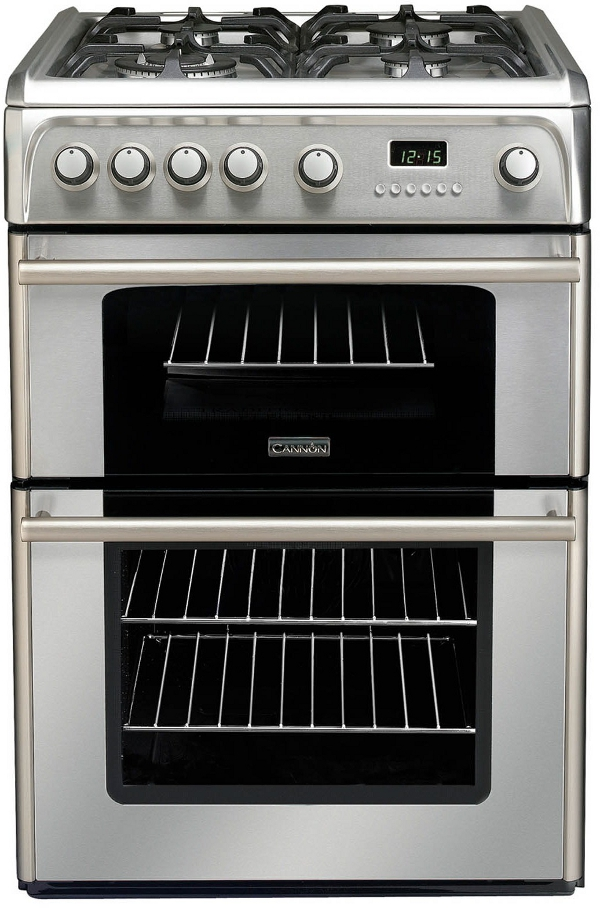 Cannon by Hotpoint CH60GPXF 60cm Gas Cooker Stainless Steel with FSD