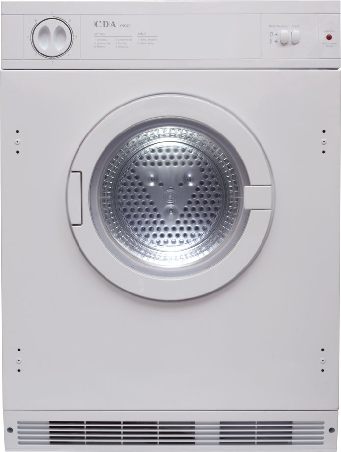 CDA CI921 7Kg Integrated Vented Tumble Dryer