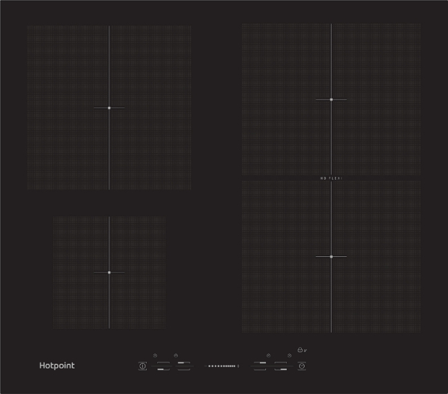 Image of Hotpoint CIS641FB 60cm Induction Hob