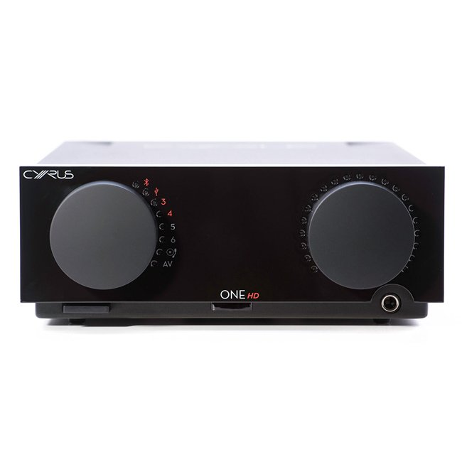 Cyrus ONE HD Integrated Amplifier with Bluetooth Black