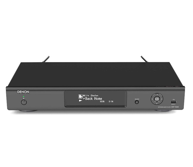 Denon DNP730AEB Network Audio Player With AirPlay In Black
