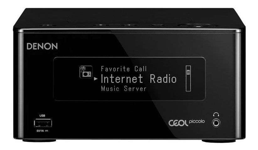 Denon Ceol Piccolo DRA-N4 Network System with Bluetooth Airplay Spotify in Black