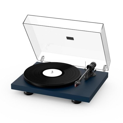 Project Debut Carbon EVO Turntable Satin Steel Blue