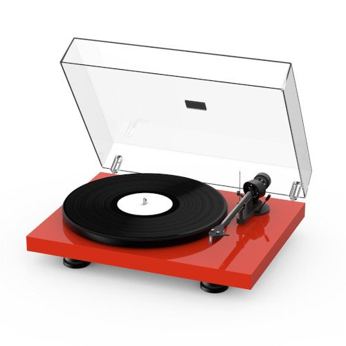 Project Debut Carbon EVO Turntable High Gloss Red