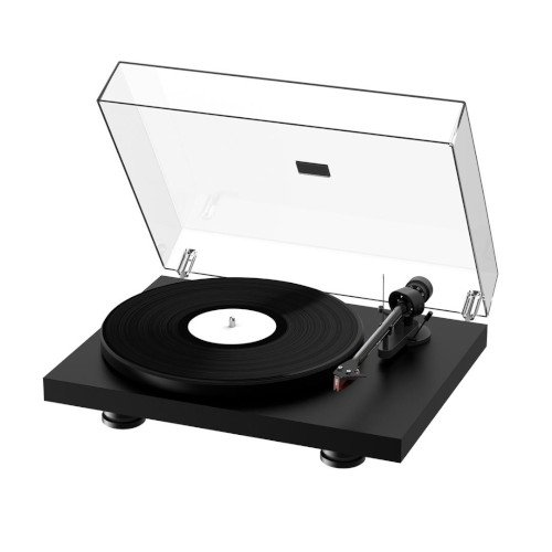Project Debut Carbon EVO Turntable Satin Black