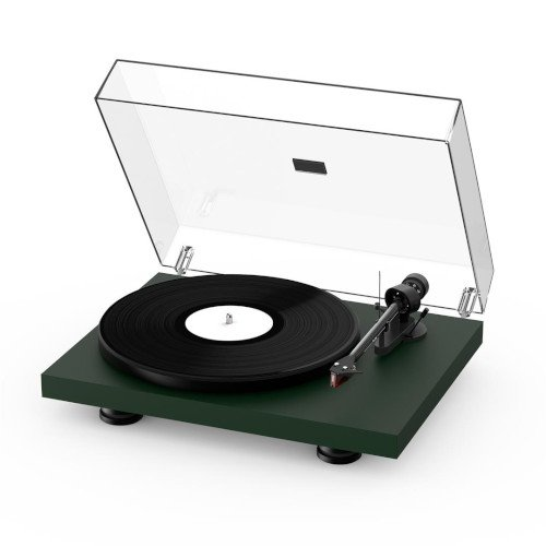Project Debut Carbon EVO Turntable Satin Fir Green