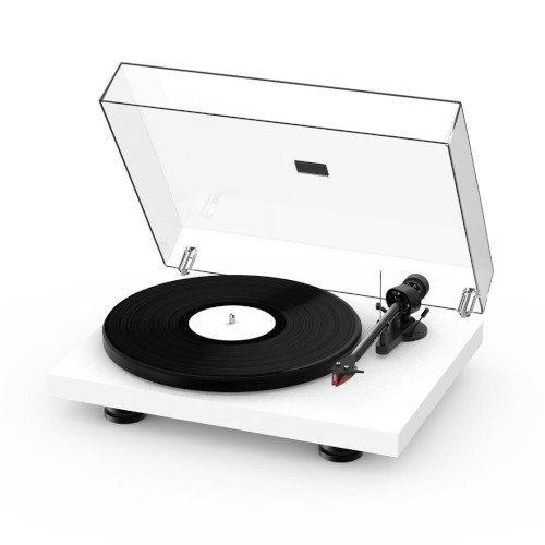Project Debut Carbon EVO Turntable Satin White