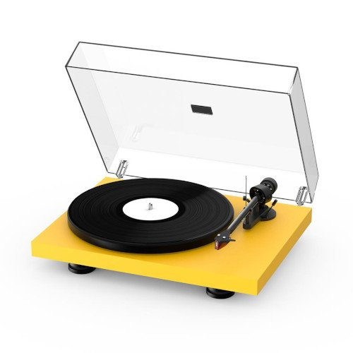 Project Debut Carbon EVO Turntable Satin Golden Yellow
