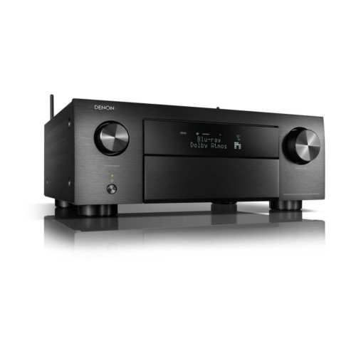 Denon AVCX4700H 9.2ch 8K AV Receiver with Dolby Atmos, HEOS Built-in and Voice Control Black