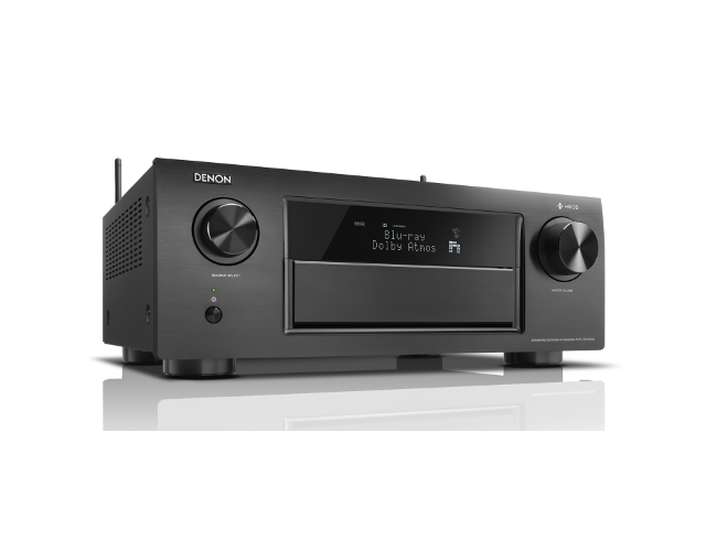 Denon AVRX6400H 11.2 Channel AV Receiver in Black with WiFi and Heos