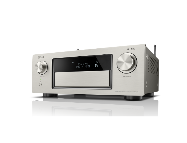 Denon AVRX6400H 11.2 Channel AV Receiver in Silver with WiFi and Heos