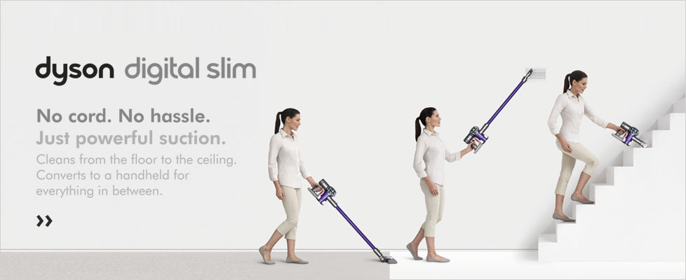 Cut the Cord - Dyson Cordless Cylinder Cleaners at electricshop.com