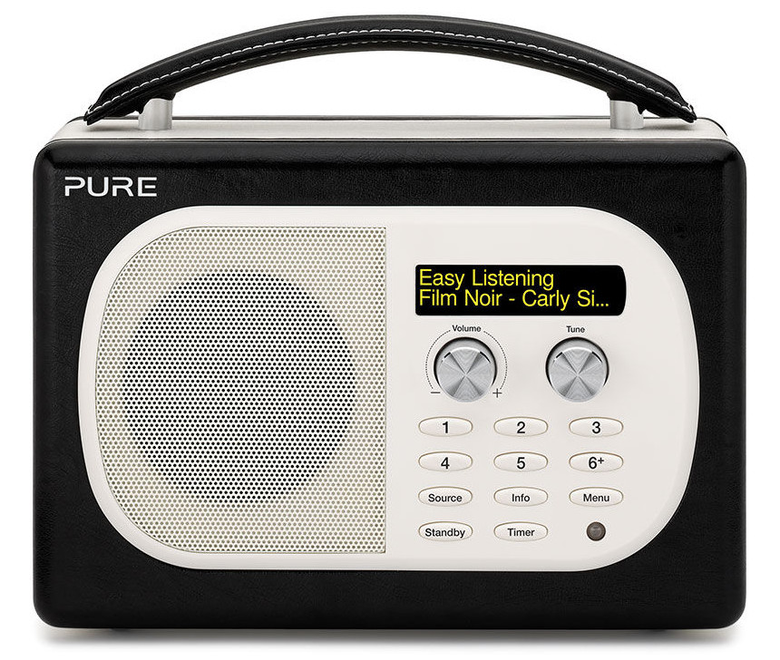 pure evoke mio dab radio compare prices at foundem. Black Bedroom Furniture Sets. Home Design Ideas