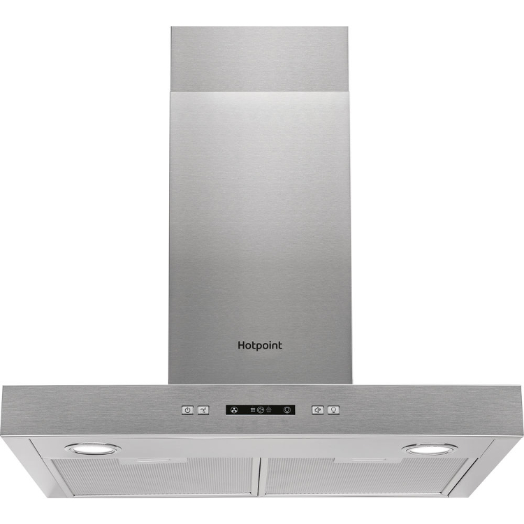 Hotpoint PHBS67FLLIX Built-in Cooker Hood in Stainless Steel