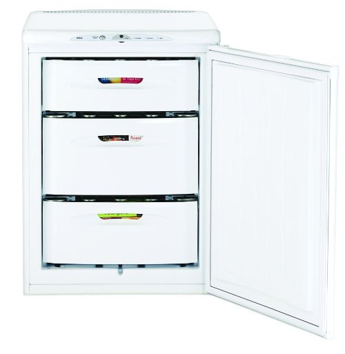 Hotpoint FZA36P 60cm Wide Frost Free Under Counter Freezer in Polar White