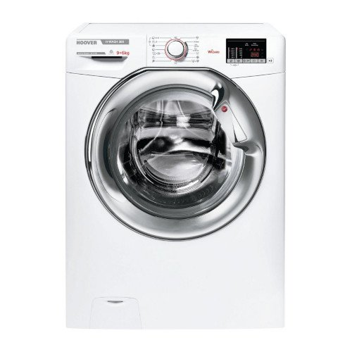 Image of H3D4965DCE 9Kg Wash 6Kg Dry 1500 Spin Washer Dryer - White