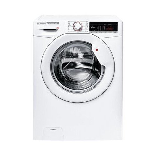 Hoover H3W47TE 7kg 1400 Spin Washing Machine with NFC Connection White