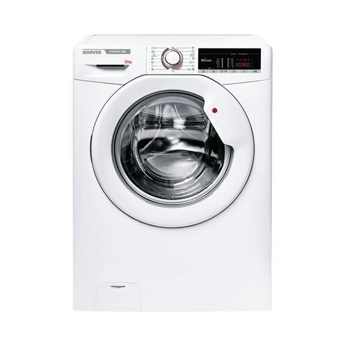 Hoover H3W58TE 8kg 1500 Spin Washing Machine with NFC Connection White