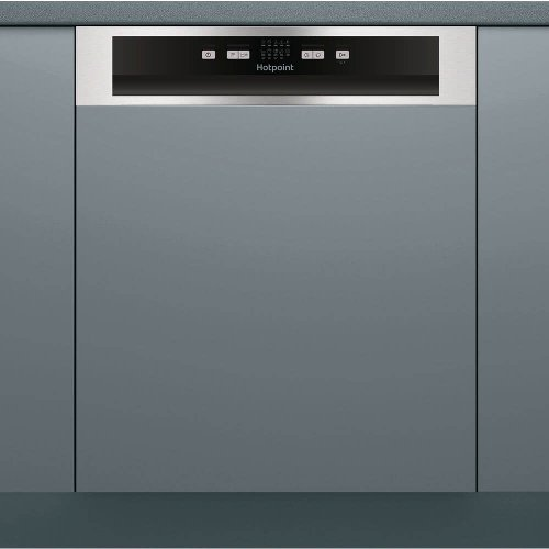 Hotpoint HBC2B19X Integrated Dishwasher in Stainless Steel