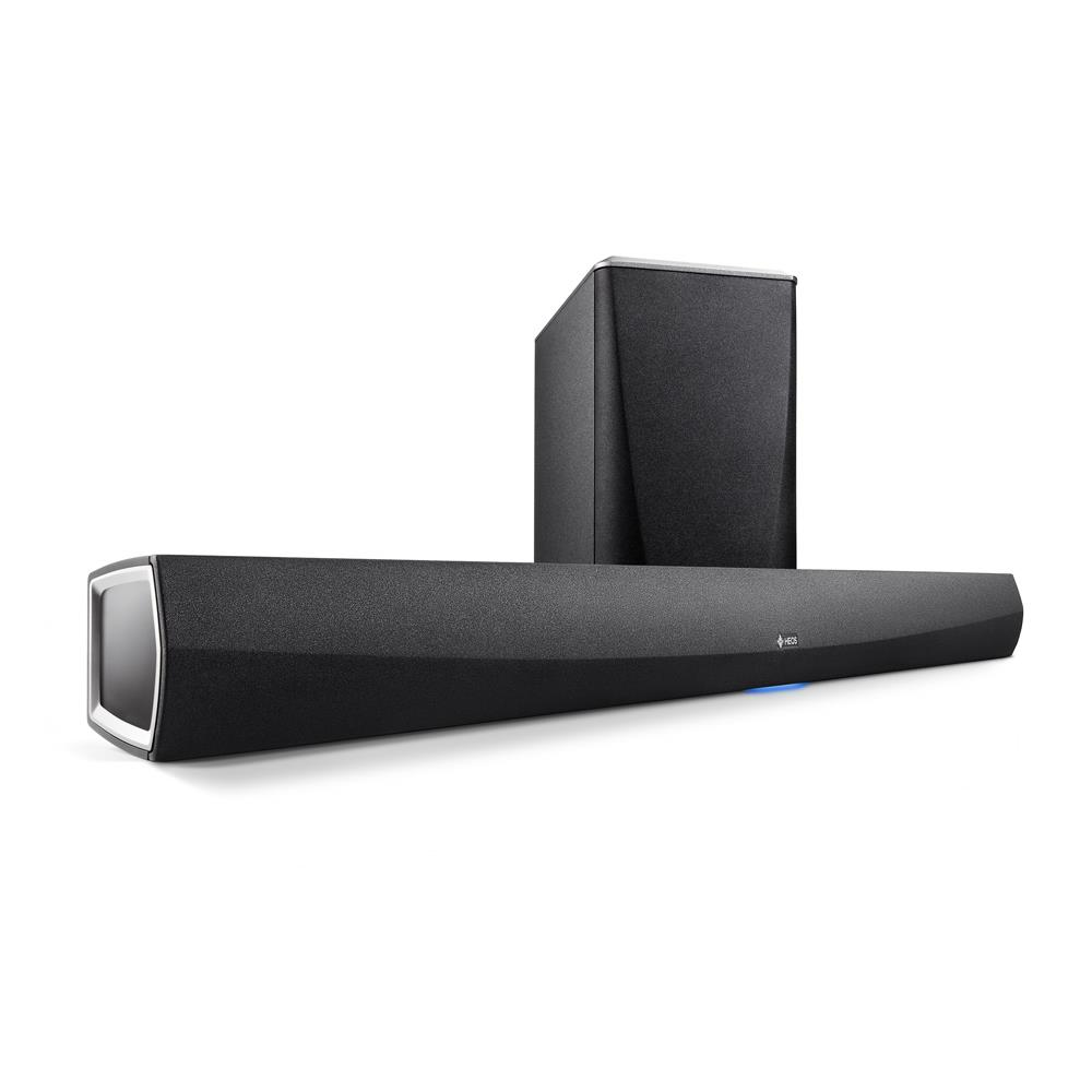 Denon Heos HomeCinema Soundbar and wireless subwoofer