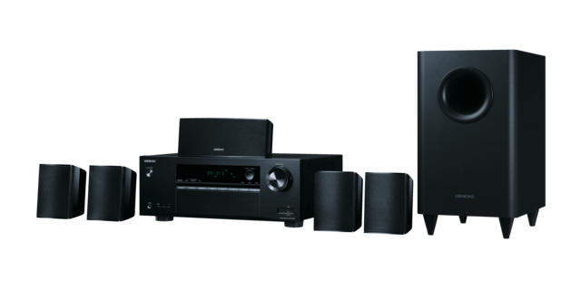 Onkyo HTS3800 5.1 Channel Home Cinema Receiver and speaker package