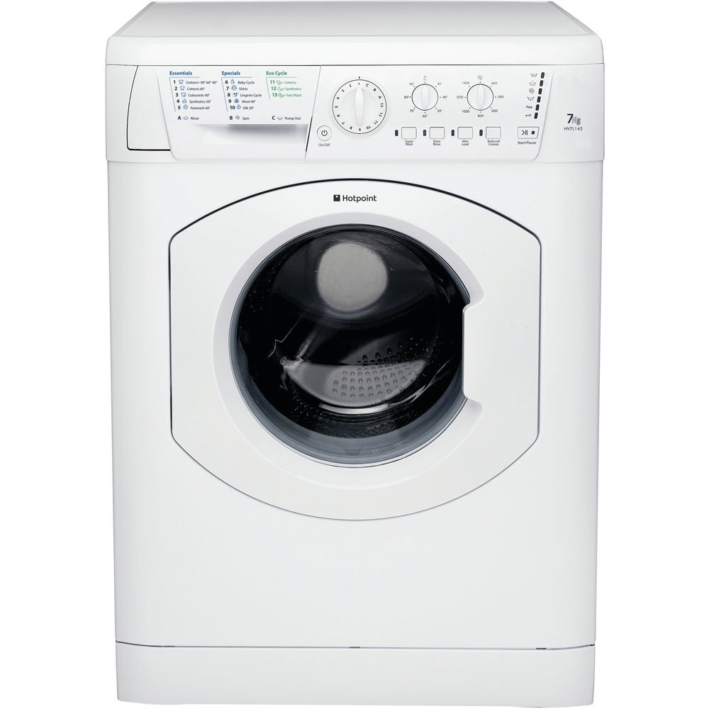 Hotpoint Experience HV7L1451P Washing Machine  7Kg 1400 Spin In White A Energy Rating
