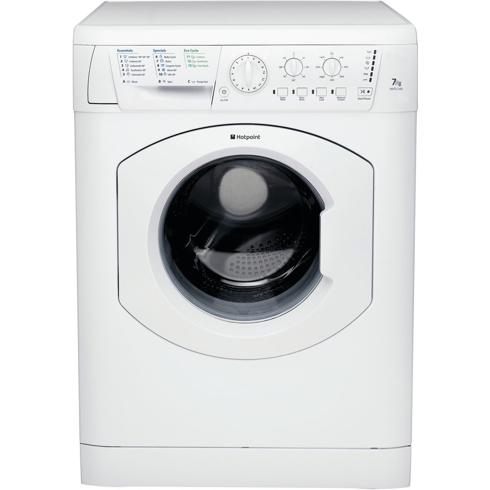 Hotpoint Experience HV7L1451P Washing Machine  7Kg 1400 Spin In White A+ Energy Rating