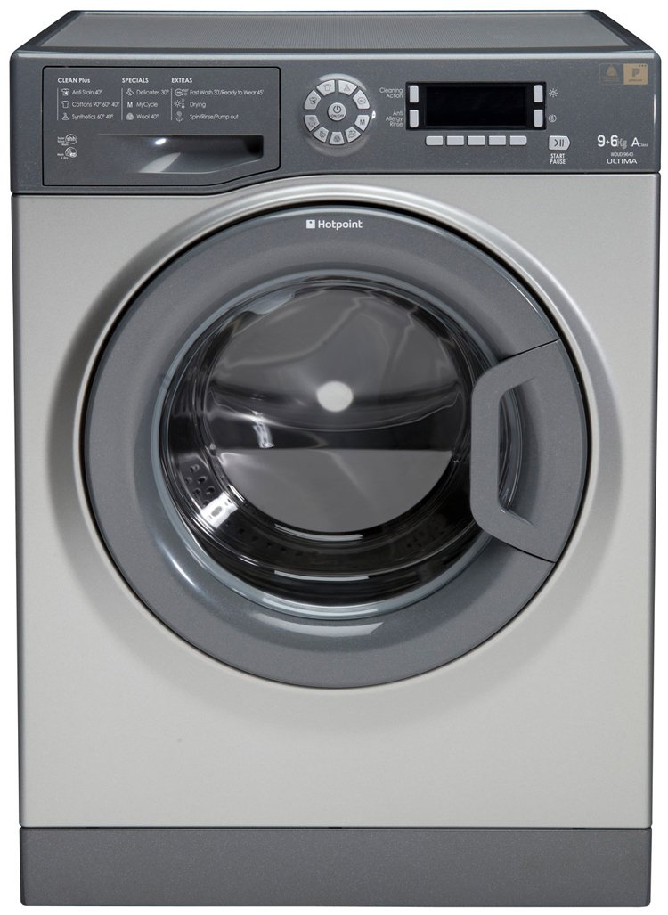 Hotpoint WDUD9640G Ultima 9Kg Washer Dryer in Graphite with 6Kg Drying Capacity