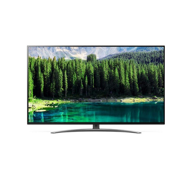 LG 55SM8600PLA 55 Inch LED HDR NanoCell 4K Ultra HD Smart TV with Freeview- front