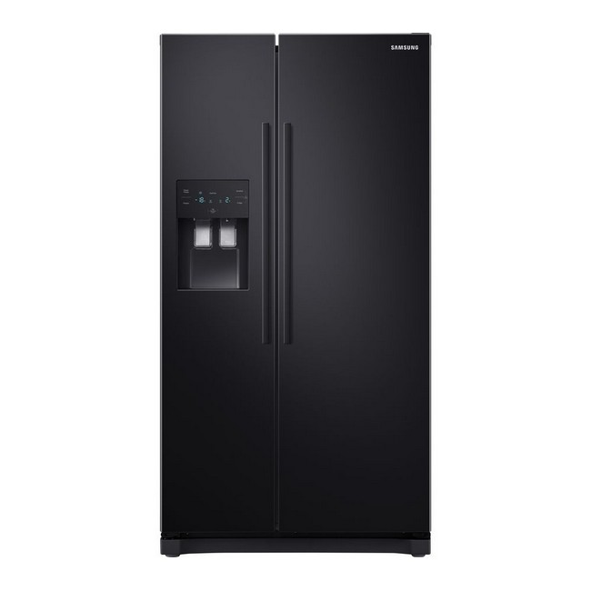 Samsung RS3000 RS50N3513BC American-Style Fridge Freezer - Black - front