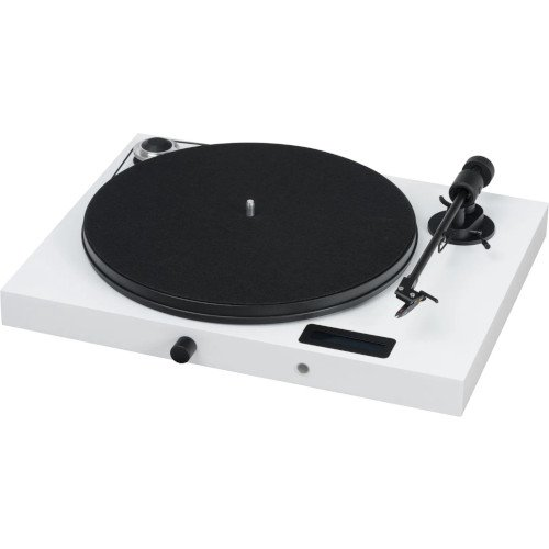 Project Juke Box E Turntable In White