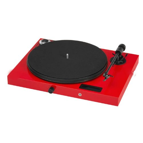 Project Juke Box E Turntable Bluetooth In Red