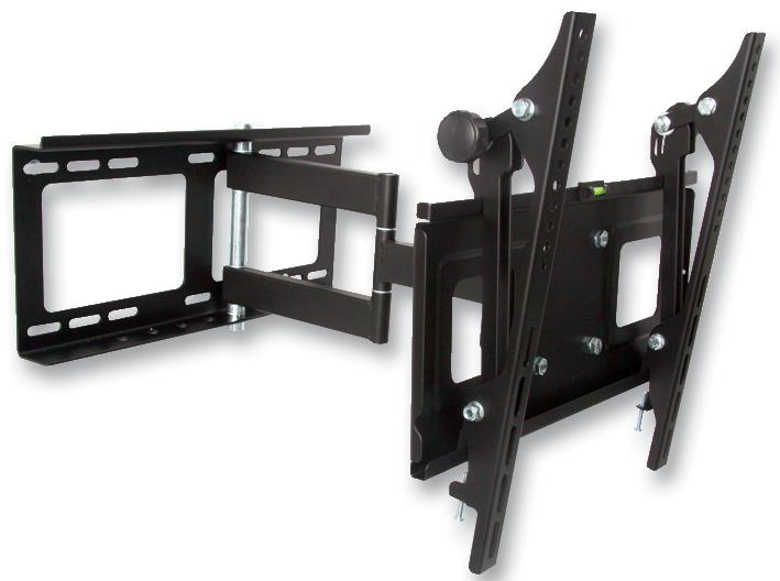 LMount LMT404FM Slim Full Motion LCD Wall Bracket for 23 inch to 42 inch Televisions