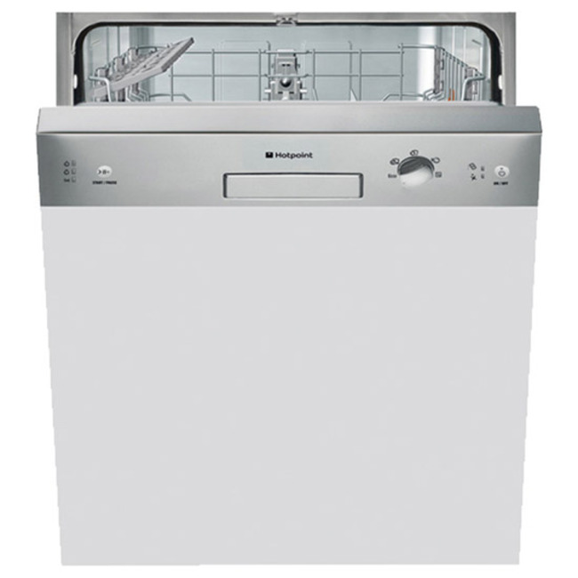 Hotpoint LSB5B019X Semi Integrated Dishwasher  with 13 Place Settings