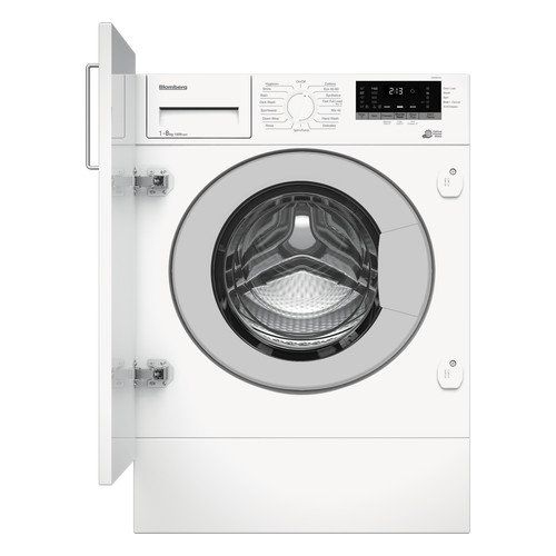 Image of Blomberg LWI284410 8KG 1400 Spin Built-in Washing Machine with Fast Full Load White