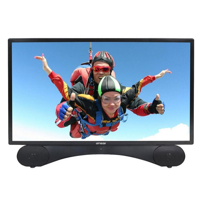 Image of Linsar X24DVDMK2 24 Inch LED Full HD 1080p TV DVD Kit with Freeview HD and Built In Soundbar