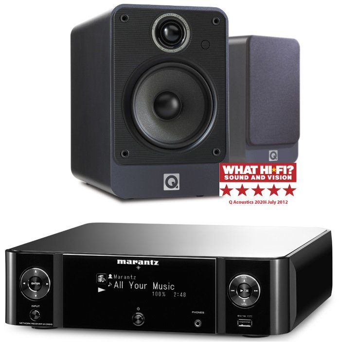 Marantz MCR510B with 2020i in Graphite Package Deal